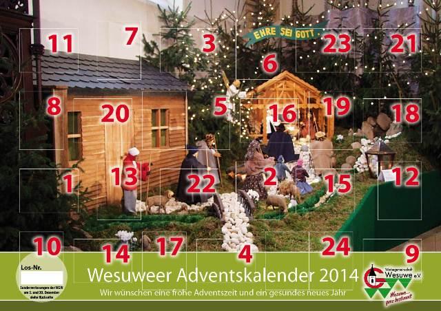 Adventskalender Titel 2014