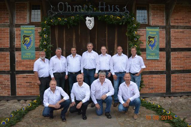 Vorstand Fischerverein