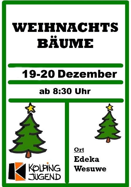 Weihnachtsbaumverkauf 2014